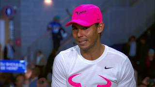 Download Rafael Nadal at the ESPN studio after his victory at USO 2017 Video