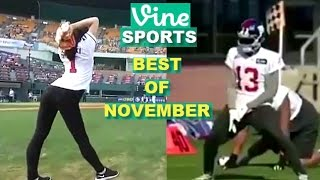 Download Best Sports Vines 2016 - NOVEMBER - WEEK 1 & 2 Video
