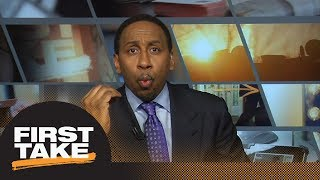Download Stephen A. Smith goes off: LeBron James 'will never be Michael Jordan' | First Take | ESPN Video