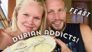 Download WHY DURIAN IS LIKE A DRUG TO US, HUNTING FOR DURIAN IN BALI VLOG Video