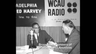 Download Malcolm X Debates Evie Rich on WCAU Radio. 1961 Video