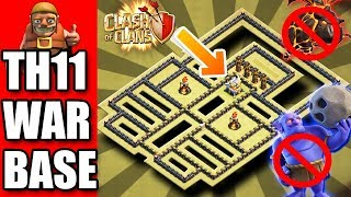Download TH11 WAR BASE ANTI BOWLER WITCH AND QUEEN WALK ATTACKS !!! Video