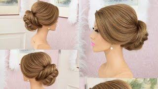 Download #Modern #Latest #Bridal #Updo For Long #Hairstyle Video