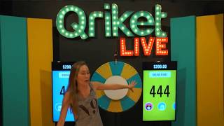 Download QriketLIVE Replay #236 - 5 Spins $200 Game Video