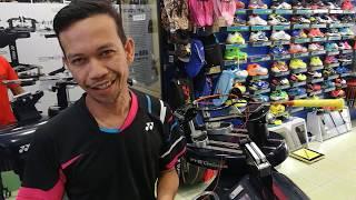 Download Badminton Stringing for a BWF World Championships Gold Medal Winner by Master Halim Video