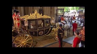 Download The Queen Opens British Parliament Pageantry 2015 Video