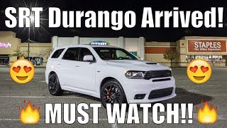 Download DELIVERY DAY! | 2018 Dodge Durango SRT 392! | 700+HP Supercharging!? Faster Than Trackhawk? Video