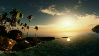 Download vr 360 4K beautiful sunsets in 360 virtual reality. (sunset in desert, ocean, canyon, beach, island) Video