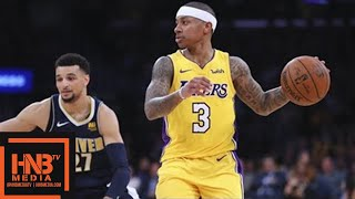 Download Los Angeles Lakers vs Denver Nuggets Full Game Highlights / March 13 / 2017-18 NBA Season Video