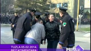 Download Tuzla protesti AKCIJA ONLINE Video