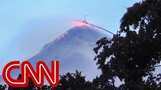 Download See residents flee erupting Fuego volcano in Guatemala Video