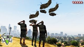 Download GTA 5 ATTACKING THE BASE - GTA Online Military Base Takeover - GTA Base Bloody Massacre Video