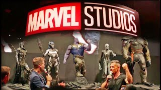 Download Marvel reveals Thanos Children, Infinity Gauntlet + Booth Tour at D23 Expo 2017 Video