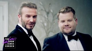 Download The Next James Bond - David Beckham v James Corden Video