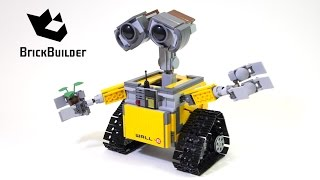 Download Lego Ideas 21303 WALL•E - Lego Speed Build Video