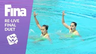 Download Re-Live - Final Duet - FINA World Junior Synchronised Swimming Championships 2016 Video