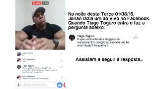 Download JORLAN, RESPONDE A TOGURO SOBRE O QUE ACHA DOS VLOGGERS ″MAROMBA″ Video
