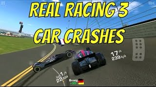 Download Real Racing 3 Car Crashes Compilation #Funny Moments! #Music 1080P HD Video