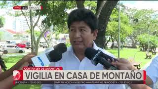 Download Montaño denuncia vigilia en su domicilio, manifestantes dicen que no se moverán Video