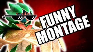 Download FUNNY MONTAGE! NEW Pokken Tournament DX Funny Moments Gameplay Video
