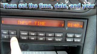 Download How to clear Check Engine Light and Fault Codes BMW Video