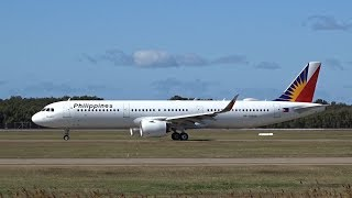 Download Philippine Airlines Airbus A321-271NEO [RP-C9930] | Inaugural | Brisbane Airport Video