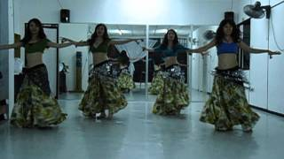 Download Malaysia Belly Dance Fusion Practice to Gypsy (Dance99) Video