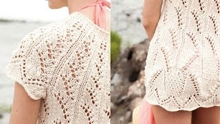 Download #14 Lace Tunic, Vogue Knitting Spring/Summer 2011 Video