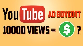Download How Much Money Youtube Paying for Per 10000 Views after recent ad boycott? Video
