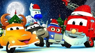 Download Car Patrol of Car City during CHRISTMAS - Police Car Cartoons & Fire Truck Videos for Kids Video