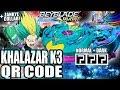 Download QR CODES KHALAZAR K3 & DARK KHALAZAR K3 + COLLAB C/ ZANKYE! - BEYBLADE BURST APP QR CODES Video