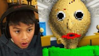 Download MI PRIMO PEQUEÑO JUEGA BALDI'S BASICS IN EDUCATION !! *Horror Máximo* Video