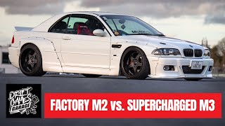 Download TRACK BATTLE - EP01   Modified E46 M3 or Factory M2? Video