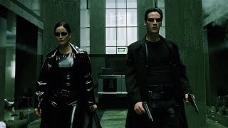 Download Shootout in the lobby   The Matrix [Open Matte] Video
