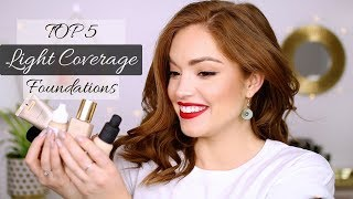 Download TOP 5 LIGHT COVERAGE FOUNDATIONS!!! Video