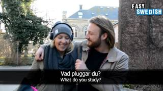 Download Easy Swedish 2 - What do you study? Video