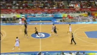 Download USA vs Spain Beijing 2008 - Gold Medal Game - 1st Half Video