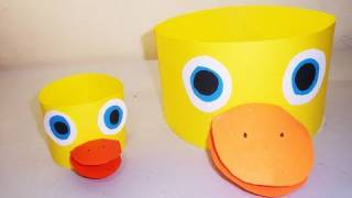Download How to make a duck hat - EP - simplekidscrafts Video