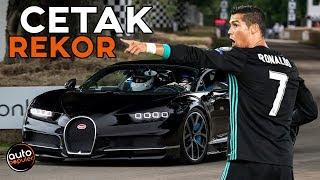 Download Gila Kecepatan! Aksi CR7 Terekam Mengendarai Bugatti Chiron Video