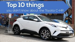 Download Top 10 things about the #Toyota CHR crossover / suv Video