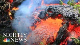 Download Officials Warn Largest Hawaii Volcano Eruption Is 'Imminent' | NBC Nightly News Video