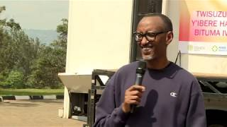 Download President Kagame joins thousands of residents of Kigali for Car Free Day | Kigali, 21 October 2018 Video