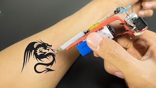Download How To Make Tattoo Machine at Home - Very Easy and Simple (Homemade Tattoo Gun with DC Motor) Video