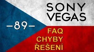 Download CZTUTORIÁL - Sony Vegas - Nejčastější problémy a dotazy Video