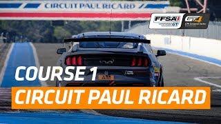 Download Championnat de France FFSA GT - GT4 European Series Southern Cup : Circuit Paul Ricard - Course 1 Video