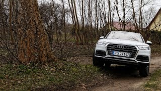 Download Audi Q5 (2017) quattro - adaptive air suspension & small offroad test :: [1001cars] Video