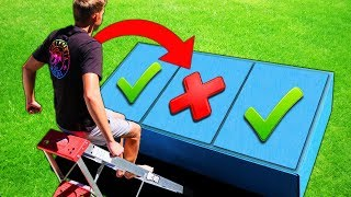 Download DONT Jump on the Wrong TRAP DOOR!! (PAINFUL MYSTERY ITEMS UNDERNEATH) Video