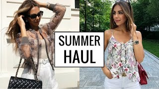 Download SUMMER TRY-ON HAUL (Mango, ASOS, Zara) | Annie Jaffrey Video