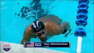 Download 2016 Arena Pro Swim Series at Austin Men's 200m IM A Final Video