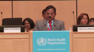 Download Statement by India at the 69th World Health Assembly, Geneva Video